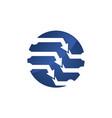 Technology control logo design template