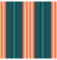 vertical tuquoise and orange stripes print vector image vector image