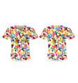 t-shirt sport design vector image