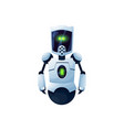 android robot kids toy futuristic helper isolated