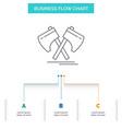 axe hatchet tool cutter viking business flow vector image vector image