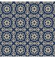 Bicolor vintage pattern vector image