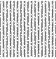 black irregular rounded lines on white background vector image vector image