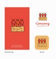 carrots farm company logo app icon and splash vector image vector image