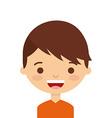 cute person design vector image
