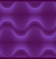 dark purple abstract geometric background with vector image vector image