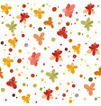 flower pattern simple repeating texture modern vector image vector image