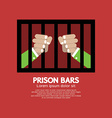 Prison Bars Graphic vector image