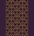 purple floral pattern vector image