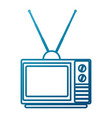 tv media technology vector image vector image
