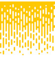 abstract yellow line flow halftone background vector image vector image
