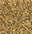 geometric abstract backgrounds brown palette vector image vector image