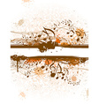 Music grunge background vector image vector image