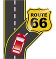 road traffic vector image vector image