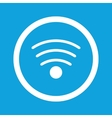 Wi-Fi sign icon vector image vector image