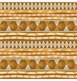 Seamless pattern with Mexican design vector image