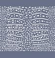 background shark whale skin vector image