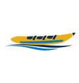 banana boat logo design template vector image