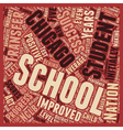 Chicago Schools See Positive Nclb Outcomes text vector image vector image