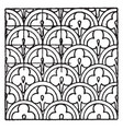 chinese enamel pattern is a design that uses vector image vector image