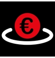 Deposit icon from BiColor Euro Banking Set vector image