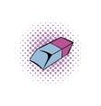 Eraser comics icon vector image vector image