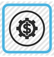 Financial Options Icon In a Frame vector image vector image
