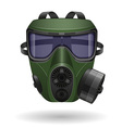 gas mask 05 vector image vector image