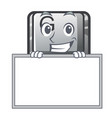 grinning with board button g isolated in the vector image vector image