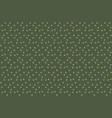 khaki green random dots background seamless vector image vector image