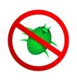 No malware icon vector image