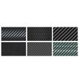 seamless carbon fiber texture black metallic vector image vector image