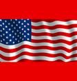 flag of usa american national symbol vector image