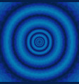 abstract blue wavy background with concentric vector image