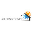 air conditioning silhouette house