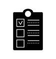 clipboard check icon sign o vector image vector image