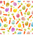 easter seamless backgroundreligious holiday vector image