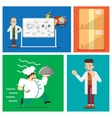 Fast delivery elements vector image