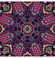 festival art seamless pattern vector image vector image