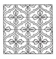 indian enamel pattern are filled with pulverized vector image vector image