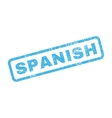 Spanish Rubber Stamp vector image vector image