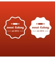 symbol of sweet bakery vector image vector image
