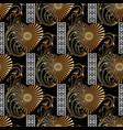 vintage 3d greek seamless pattern modern vector image vector image