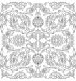 arabesque vintage decor floral ornate pattern for vector image
