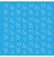 Blue background with birds vector image