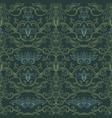 damask vintage seamless pattern vector image