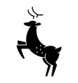 deer icon sign on isolate vector image vector image