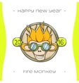 Fire Monkey One vector image vector image
