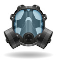 gas mask 07 vector image vector image