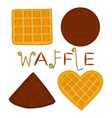 icon logo for set various sweet vector image vector image